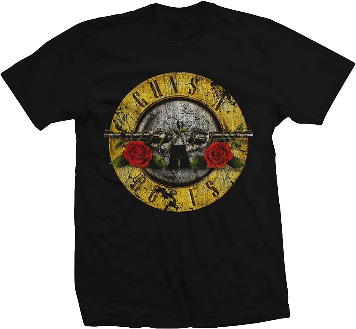 Bravado Guns Nx0027; Roses Distressed Tx2212;Shirt