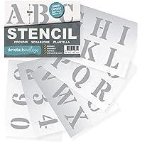 Plantillas Letras Stencil - Plantillas del Alfabeto –