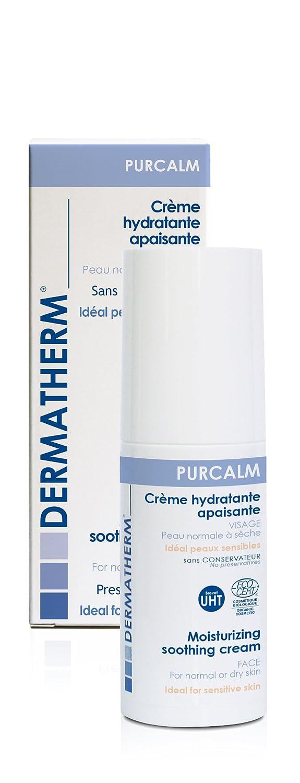 Dermatherm - Crème hydratante Apaisante Bio PURCALM - 50ml 131953