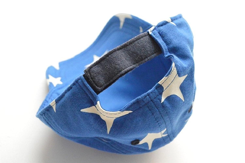 Decentron enfants gar/çons filles Coton Velcro r/églable Chapeaux /étoiles Hiphop Casquette de baseball