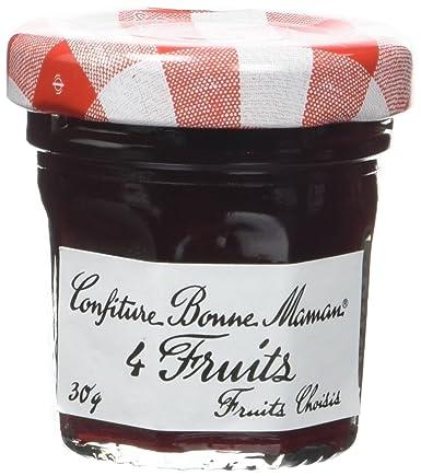 Bonne Maman Pot Confiture 4 Fruits 30g X 15 Unités Amazonfr Epicerie