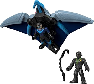 Fisher-Price Imaginext DC Super Friends, Ninja Nightwing & Glider