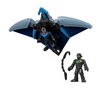 Fisher-Price Imaginext DC Super Friends, Ninja Nightwing & Glider