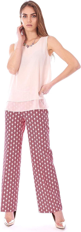Luckylu Sleeveless Blouse Pink
