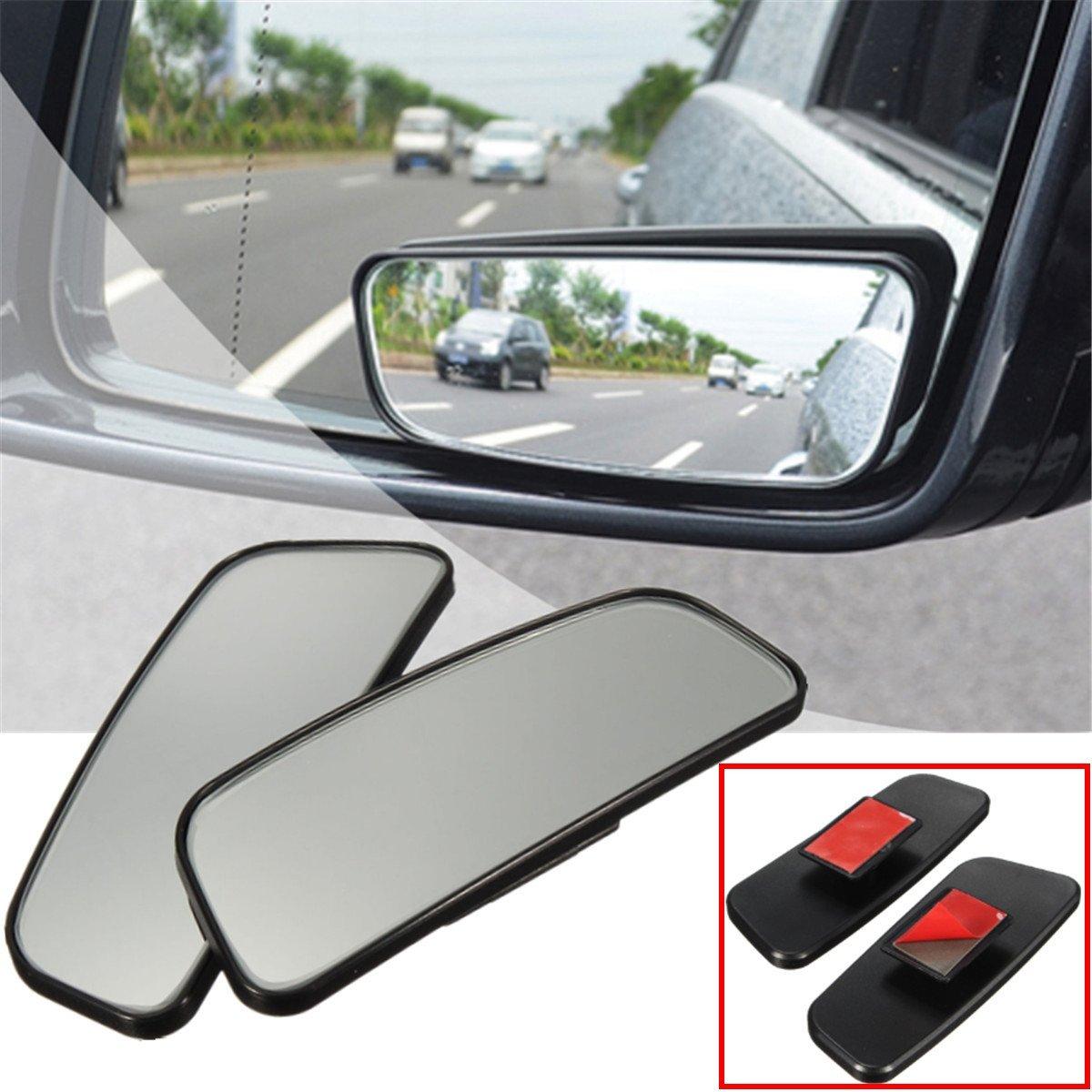 Audew 2x Miroir R/étroviseurs Ext/érieur Auxiliaire Miroir d/'Angle Mort Mirror Blind Spot Pour Voiture Camion