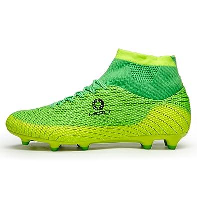 96a22a210 LEOCI Performance Men s Soccer Shoe Outdoor Soccer Cleat (4 D(M) US