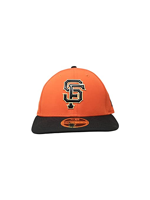 promo code a374d 12a59 New Era San Francisco Giants Fitted Hat 59Fifty MLB Straight Baseball Cap SF  (7,