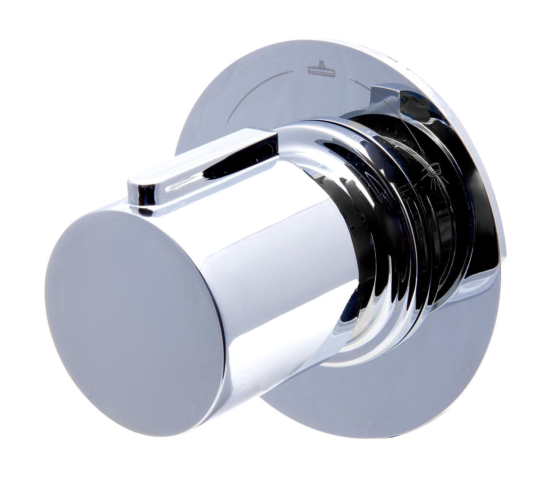 ALFI brand AB9101-BN Modern Round 3 Way Shower Diverter, Brushed ...