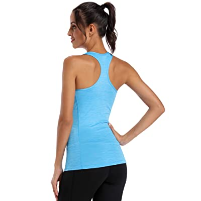 Cadmus Women Dry Fit Compression Athletic Tank Top for Yoga Running 3 Pack