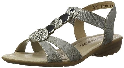Womens R3638 Wedge Heels Sandals Remonte ECHGSf0C