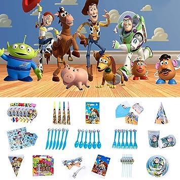 Amazon.com: Nidezon Toy Story 4 suministros de fiesta de ...