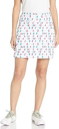Cutter & Buck Women's Moisture Wicking, UPF 50+, Pull-on Anna Printed Knit Skort