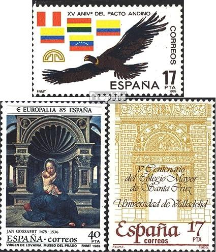 Prophila Collection España Michel.-No..: 2663,2664,2665 (Completa.edición.) 1985 Anden, Cultura, Uni (Sellos para los coleccionistas): Amazon.es: Juguetes y juegos