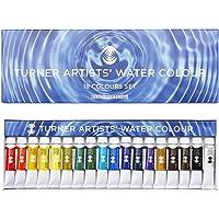 ターナー色彩 透明水彩絵具 18色セット WT00518C 5ml