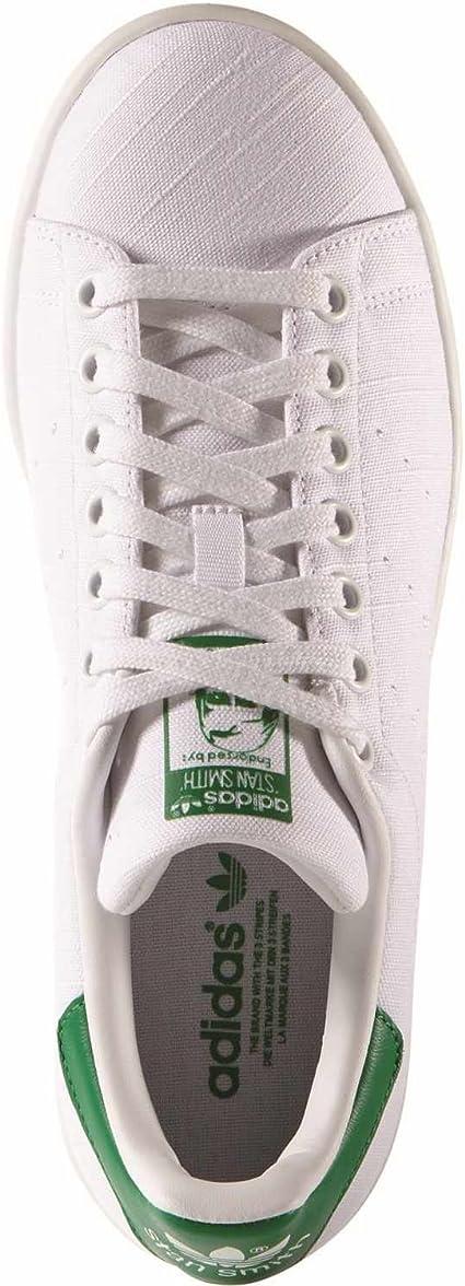 adidas Stan Smith Calzado white/white/green: Amazon.es: Deportes y aire libre