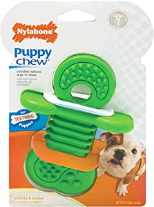 Nylabone Rhino Small Vanilla Scented Bone Puppy Dog Chew Toy