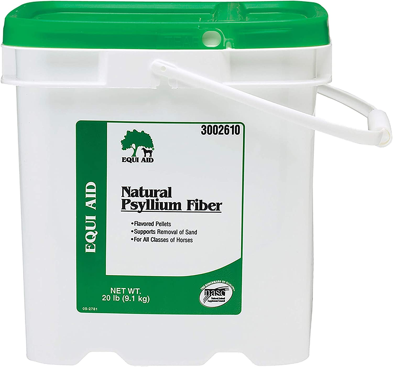 Farnam Equi Aid Natural Psyllium Fiber, 20 lbs : Pet Wormers : Pet Supplies