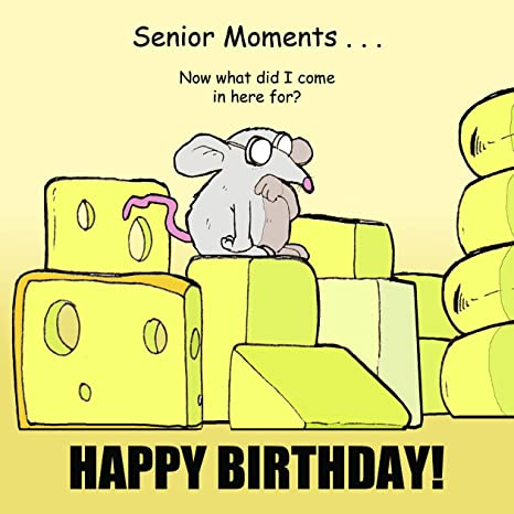 Twizler Funny Birthday Card With Mouse