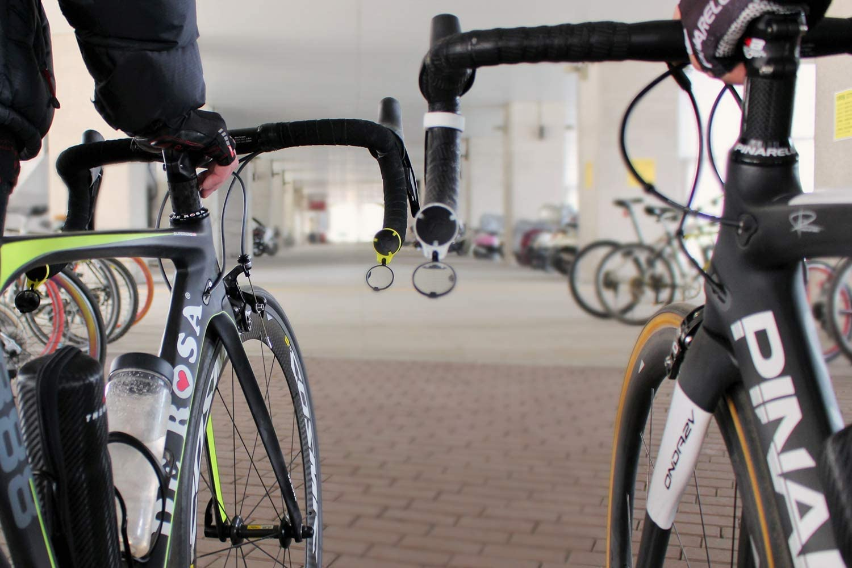 Espejo retrovisor para bicicleta de carreras - Aerodinámica ...