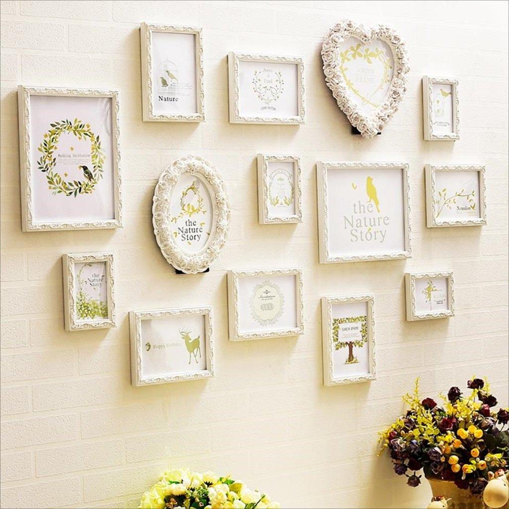 LI LU SHOP Multi Bilderrahmen Bilderrahmen Bilderrahmen Foto Wand mit hochwertigen Rahmen groß 2cb5e1