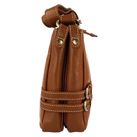 Clarks Crossbody Tickleton Joy Tan Leather One Size H Clarks VtjNM5