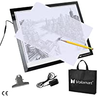 Voilamart A3 LED Ultra-Thin LED Tracing Board Dimmable Brightness Artcraft Animation Drawing Stencil Pad Panel…