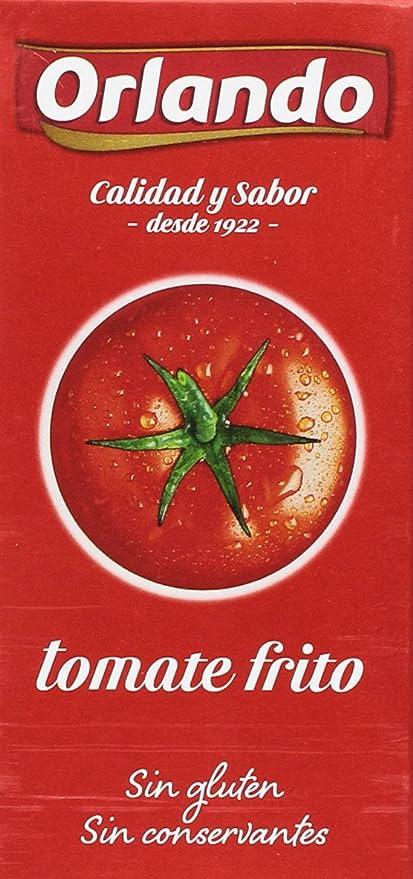 Orlando - Tomate Frito Clásico, 780 g - [pack de 4]: Amazon.es: Alimentación y bebidas