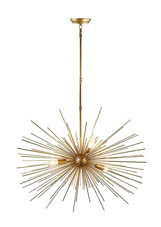Decomust 31u0026quot; Inch Astra Sputnik Light Satellite Ceiling Light Fixture  Spikes Pendant Chandelier L&  sc 1 st  Amazon.com & Decomust 31