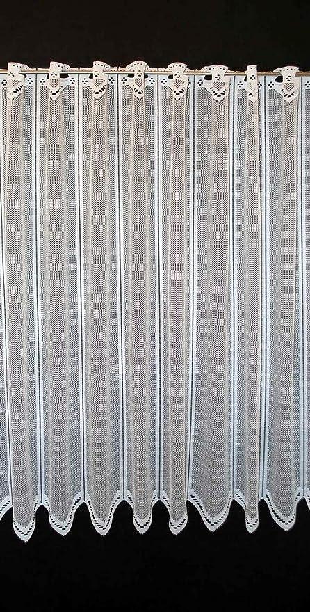 Frankgardinen Scheibengardine Neutral 90 Cm Hoch Weiss Breite Frei Wahlbar Durch Gekaufte Menge In 12 5 Cm Schritten Bistrogardine Kuche Voile Vorhang Amazon De Kuche Haushalt