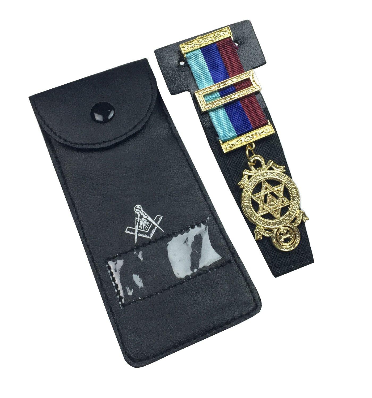 Masonic Regalia Pocket Jewel Holder/Wallet Masonic Carry case MC049 Unique Regalia