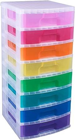 Really Useful Box Aufbewahrungs-Boxenturm 11 x 7 Liter