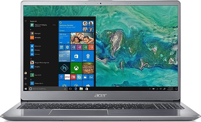 "Acer Swift 3 SF315-52G-82TV, 15.6"" Full HD, 8th Gen Intel i7-8550U, NVIDIA GeForce MX150, 8GB DDR4, 256GB SSD, Silver"