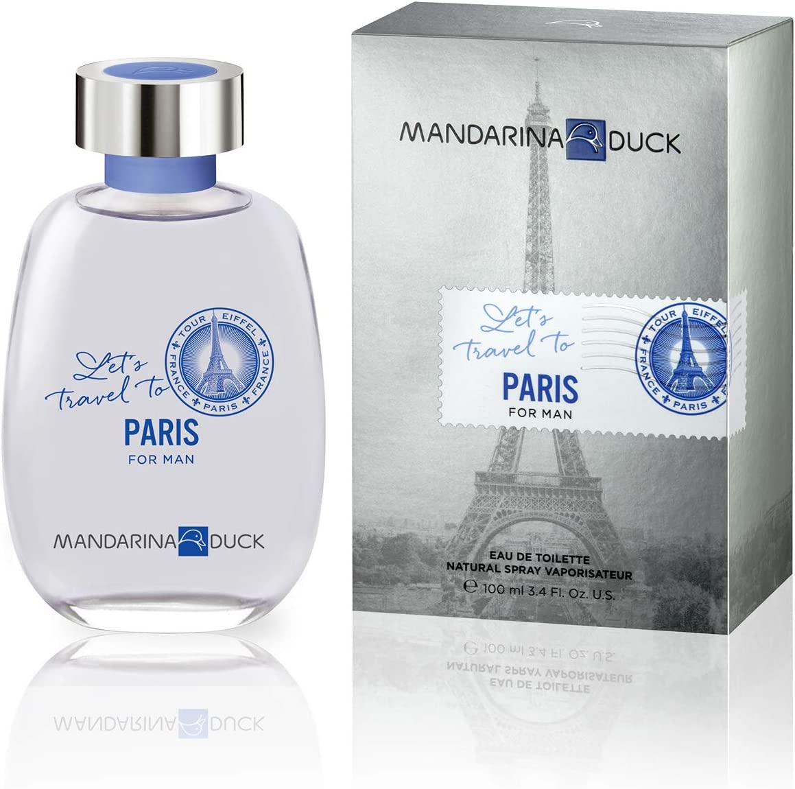 Mandarina Duck Let'S Travel To Paris, 100 ml