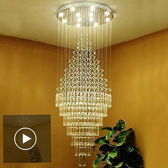 Lustre En Cristal Penthouse Villa Escalier Ideale Pour Une