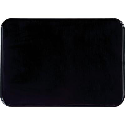 "Maier USA 509910 7"" X 10"" Number Plate - Black: Automotive"