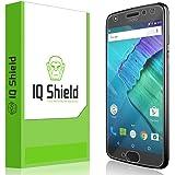 IQ Shield Screen Protector Compatible with Moto X4 (4th Generation, 2017) Anti-Bubble Clear Film