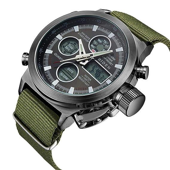 83976f5190b1 Amazon.com: Watch, Mens Watch, Multifunction Digital LED Watch ...