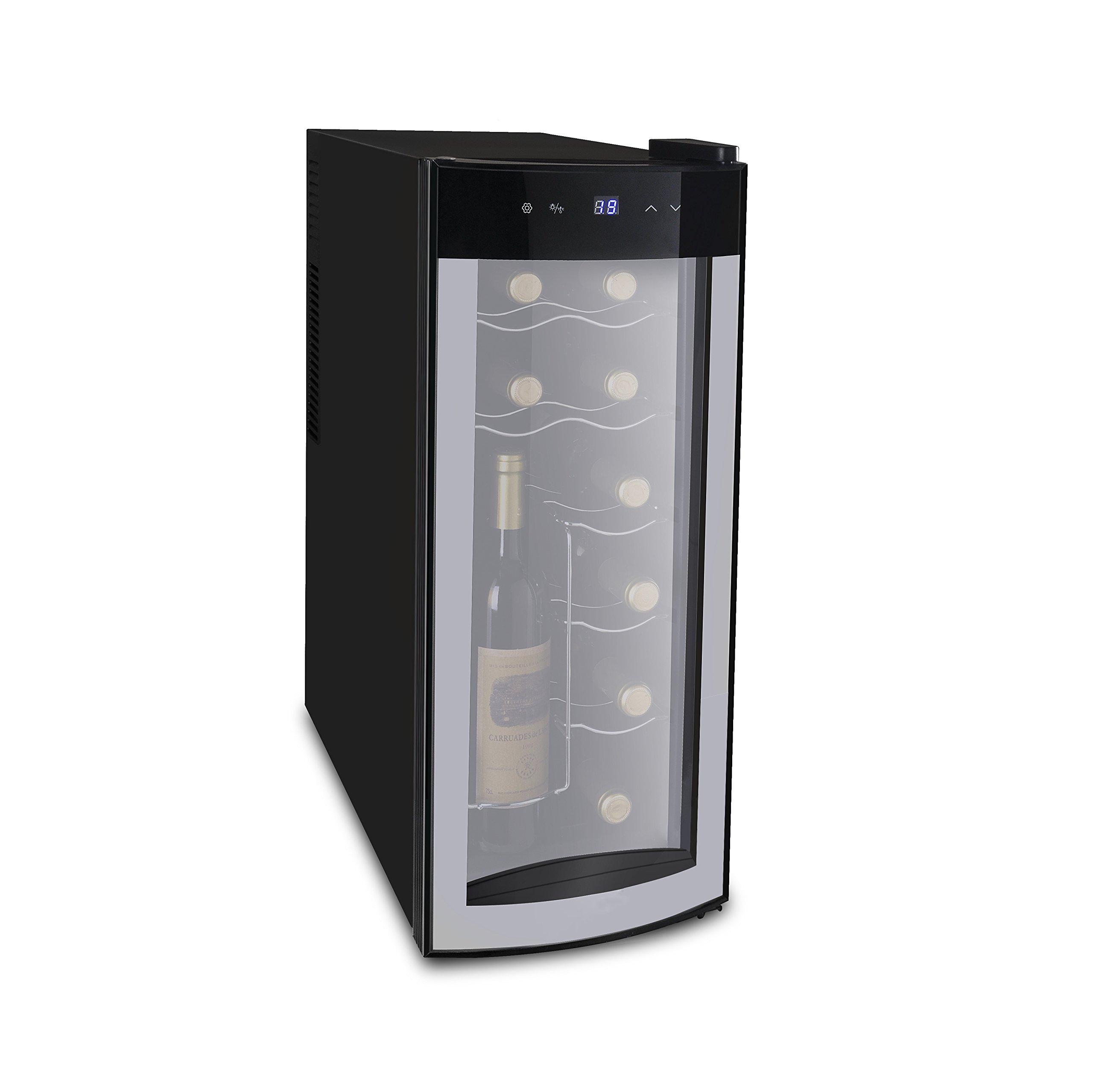Frigidaire FRW1225 Wine Cooler, Black by FRIGIDAIRE