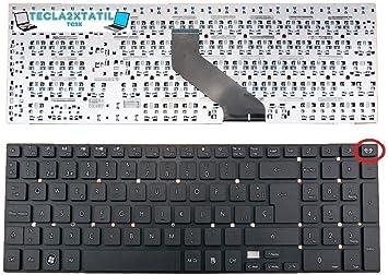 Teclado Compatible DE Y para PORTATIL Packard Bell EASYNOTE TS11HR Series EN ESPAÑOL SIN Marco Ver Foto