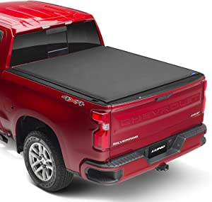 "Lund Genesis Elite Roll Up, Soft Roll Up Truck Bed Tonneau Cover | 96892 | Fits 2014 - 2018 GMC Sierra & Chevrolet Silverado 5' 8"" Bed"
