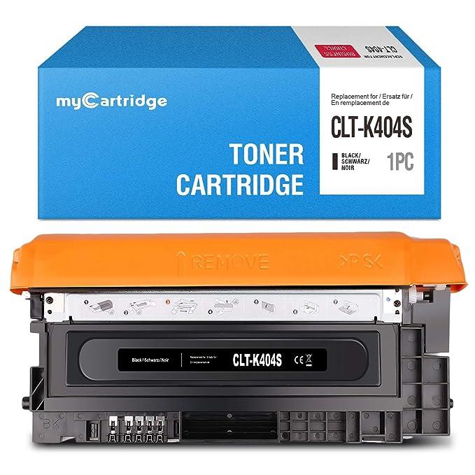 MyCartridge 404 Negro Cartucho de tóner Compatible Samsung CLT ...