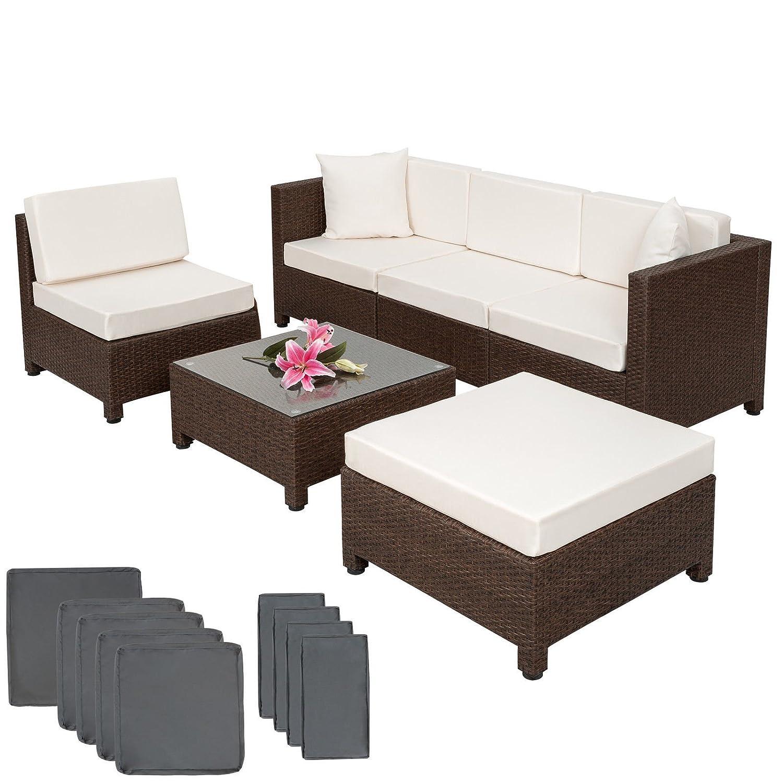 Ssitg Poly Rattan Aluminium Sofa Sitzgruppe Gartenmöbel Lounge Möbel