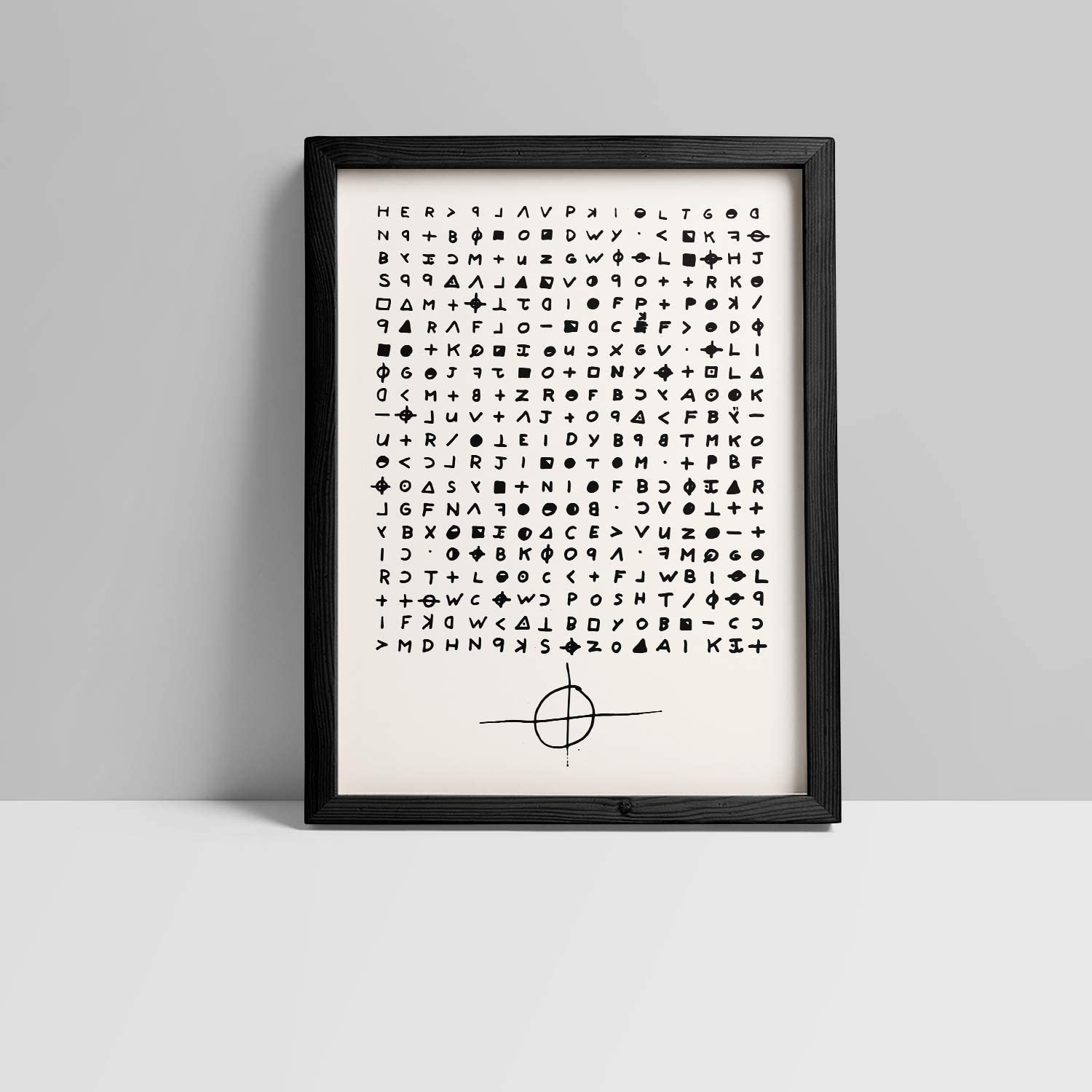 Amazon Com Inked And Screened The Zodiac Killer Puzzle Letter