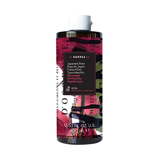 Korres Showergel, Japanese Rose, 13.53 Ounce
