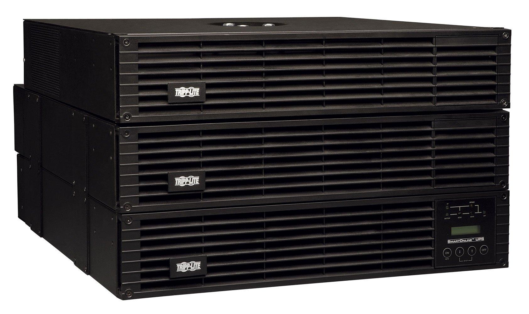 Tripp Lite SU6000RT4UTF 6000VA 5400W UPS Smart Online Rackmount 6kVA PDU 208/240/120V 6U, 16 Outlets