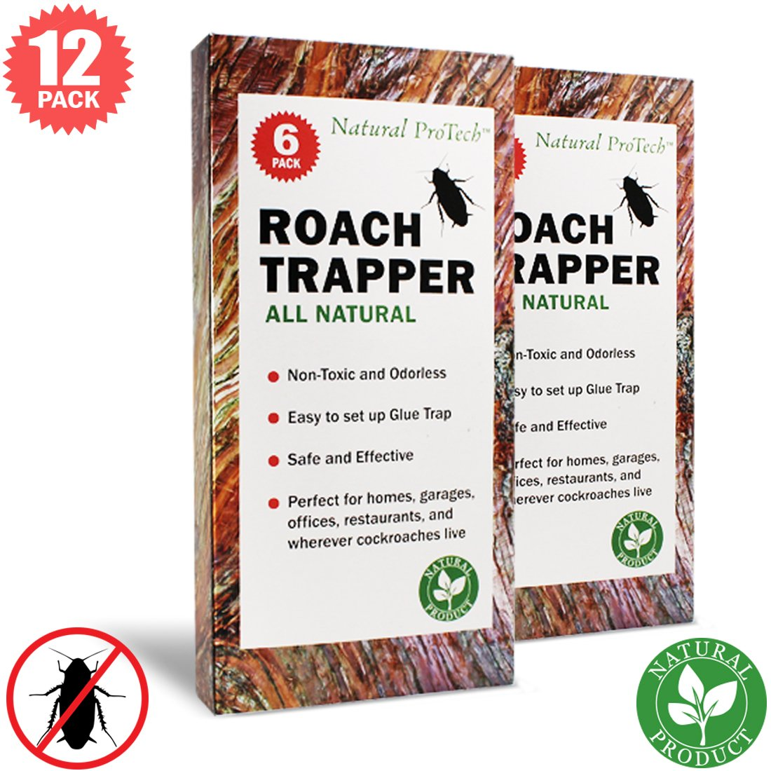 Natural ProTech - Cockroach Trap Sticky Glue
