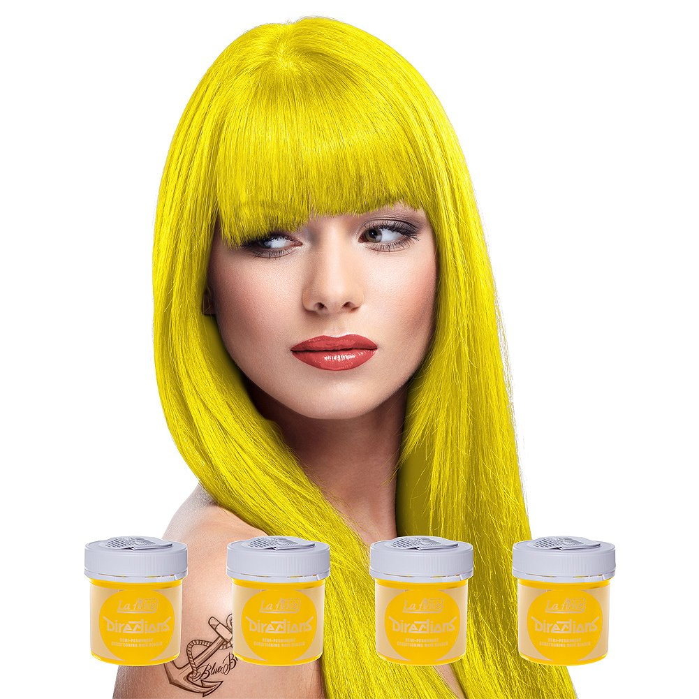 4 x La Riche Directions Semi-Perm Hair Colour Fire (ALL COLOURS Avail) 4x 88ml ALR_6A_x4