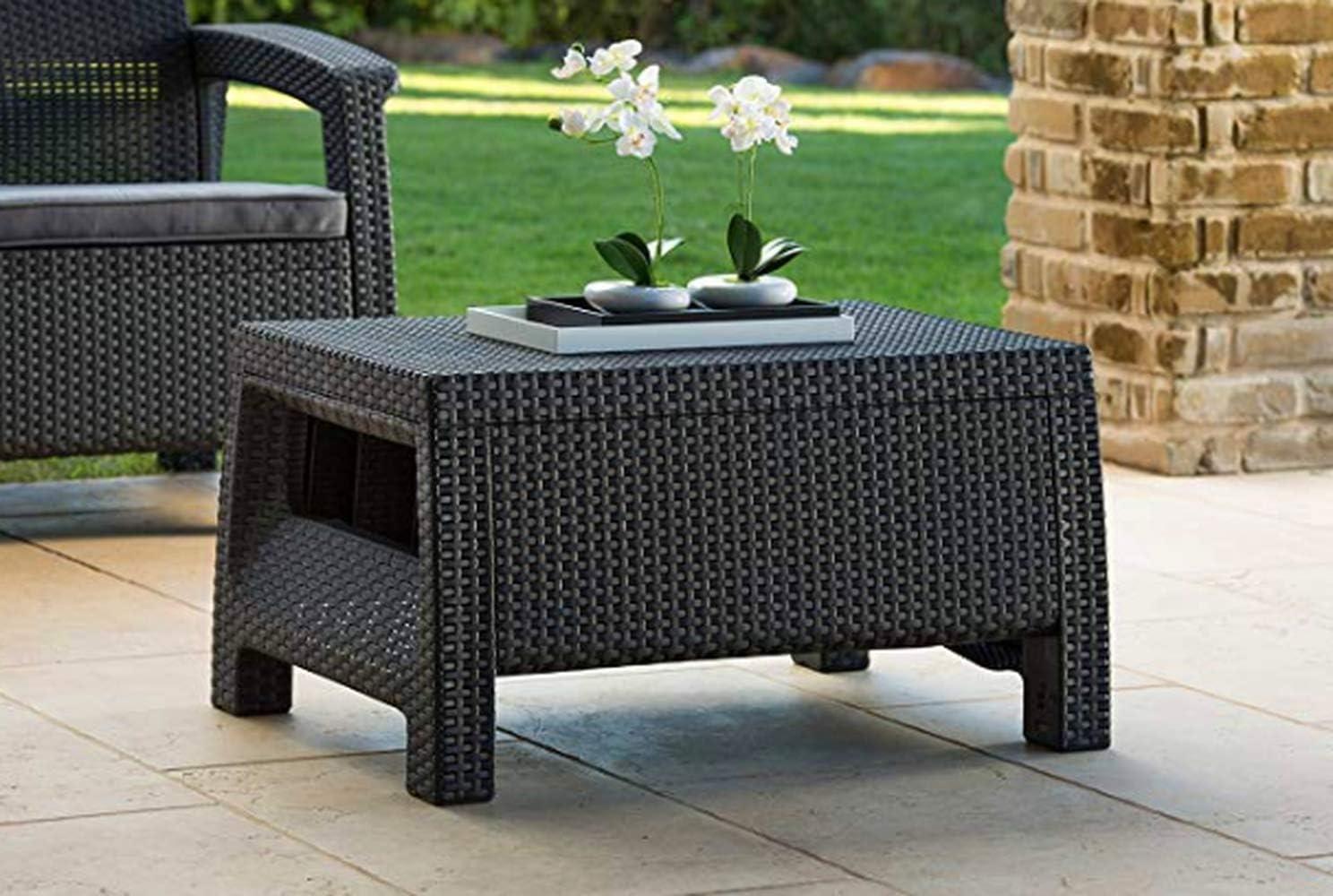 Amazon Com Ker Modern Outdoor Coffee Table Premium Quality