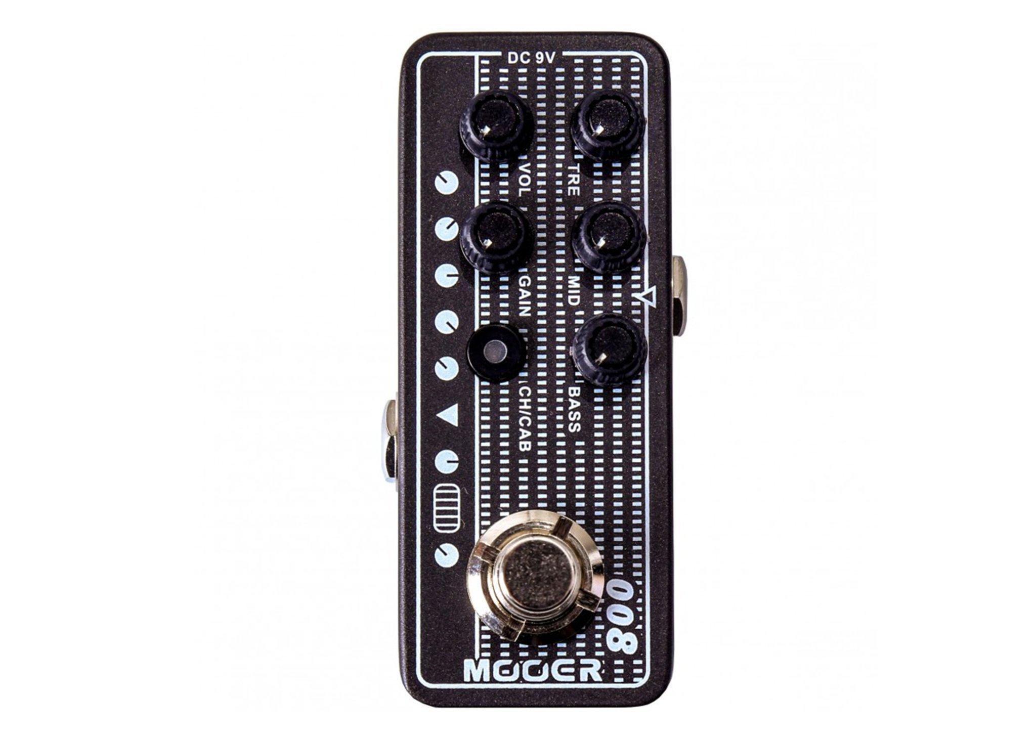 Mooer Micro Preamp 008 Cali-MK3 w/Bonus RIS Pick (x1) 6943206792178