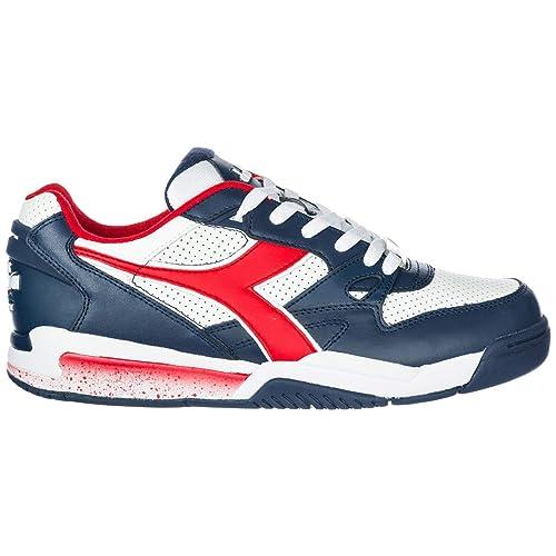 Diadora Zapatillas Deportivas Hombre Insigna Blue/White 42 EU: Amazon.es: Zapatos y complementos
